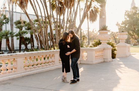 Claire and Co Balboa Park Maternity Photos